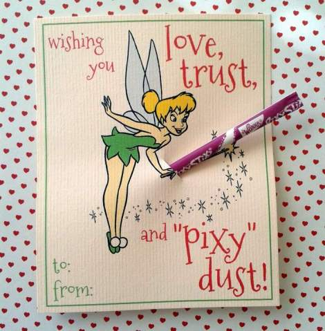 tinkerbell valentines wand
