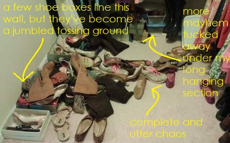 01 shoe closet the mayhem