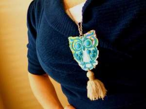 02 owl necklace