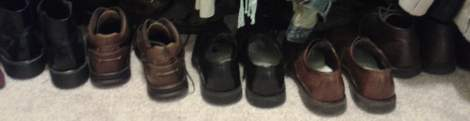02 shoe closet hubs' shoes