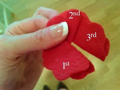 05 felt flowers