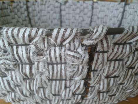 06 fabric woven wire basket