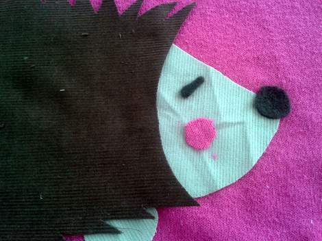 06 hedgehog sweater
