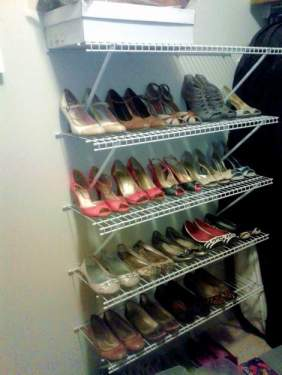 10 shoe closet add shoes