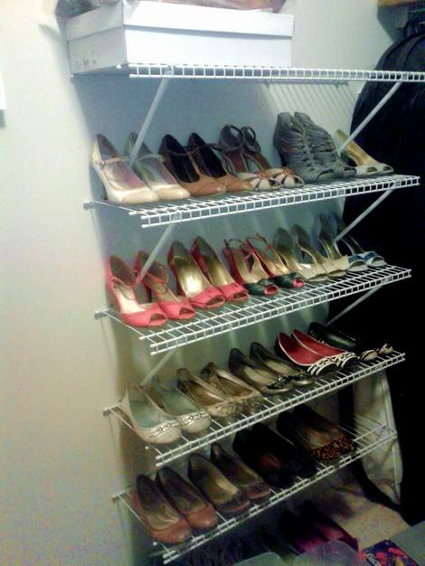 10 shoe closet add shoes