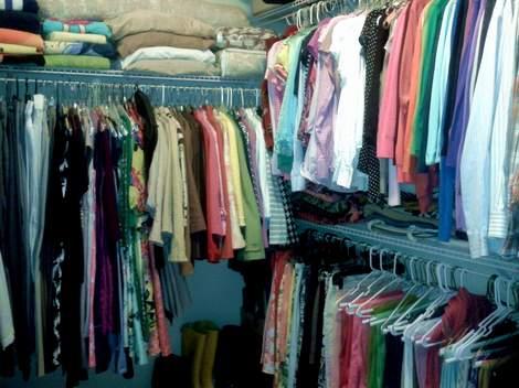 12 ROYGBIV closet