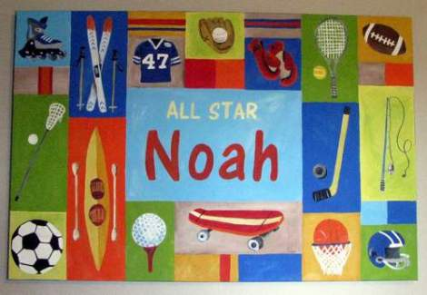 football room noah art