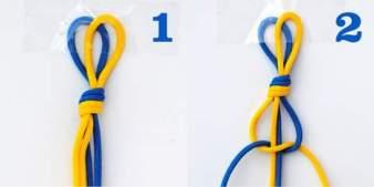 hex nut bracelets macrame knotting