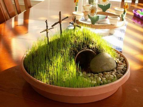wheat grass decor 04