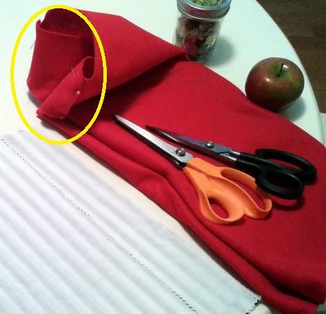 09 felt vest sew