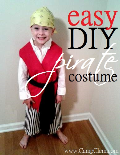 10 pirate vest  sc 1 st  C&Clem & Outfitting Your Little Pirate: Simple DIY Felt Vest | CampClem