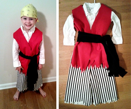 11 pirate costume  sc 1 st  C&Clem & Outfit Yer Liu0027l Buckaneer: Simple DIY Pirate Pants | CampClem