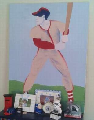 DIY art home tour batter 1