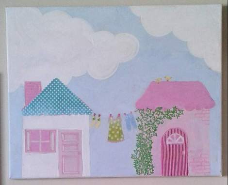 DIY art home tour house 1