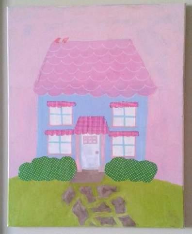 DIY art home tour house 2