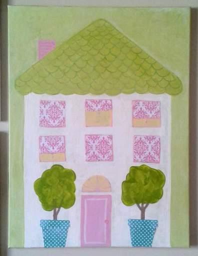 DIY art home tour house 3