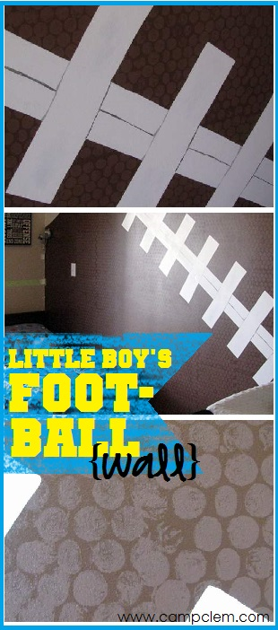 football feature wall