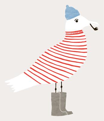 seagull painting inspiration Wayne Pate