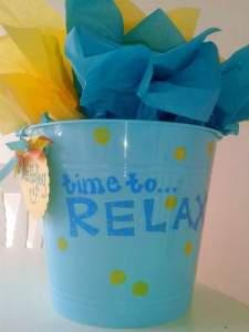 spring break teacher gift basket