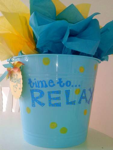 spring break teacher gift basket