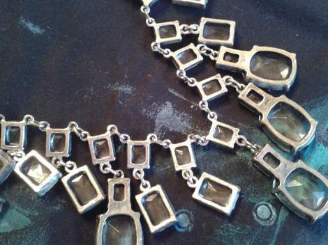 04 glass and silver necklace makeover