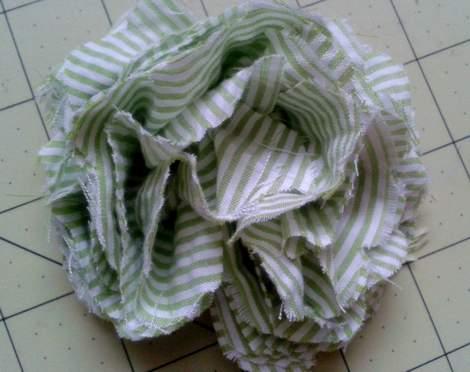 07 fabric flower