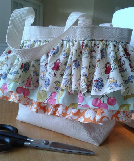08 add ruffles to tote trimmed before