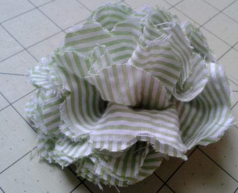 08 fabric flower