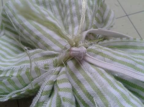 12 fabric flower