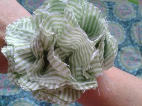 13 fabric flower