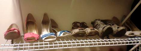 shoe shelf tip catywompus