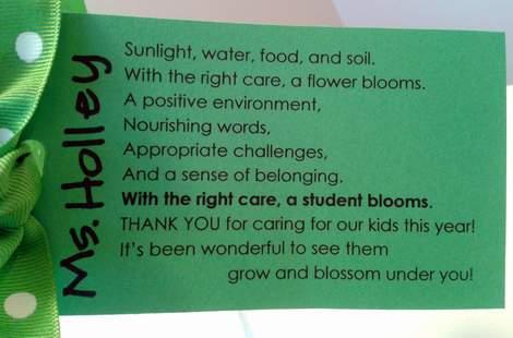 teacher gift class bouquet 1