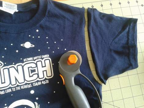002 t-shirt to dress simple transformation tutorial