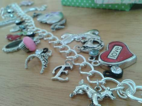 charm bracelet teacher class gift 07
