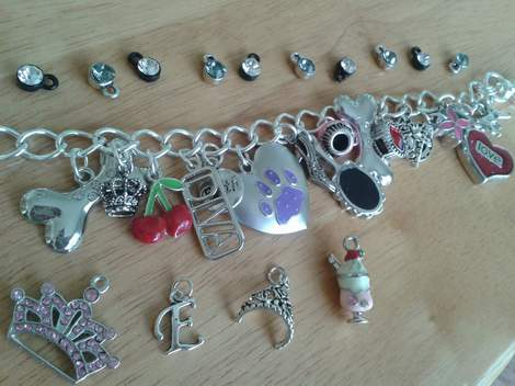 charm bracelet teacher class gift 08