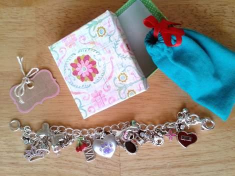 charm bracelet teacher class gift 11