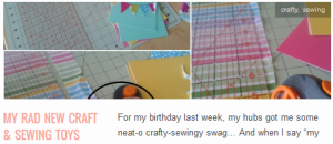LINK My Rad New Craft & Sewing Toys