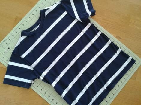 01 simple tutorial shirt to cinch dress