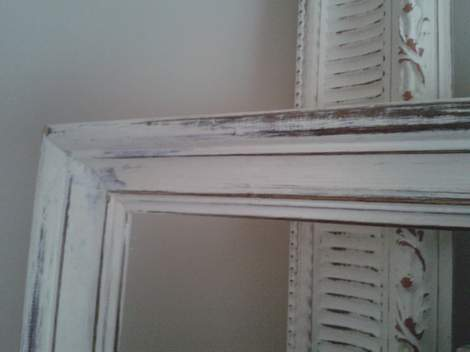 01b top of china cabinet frames after