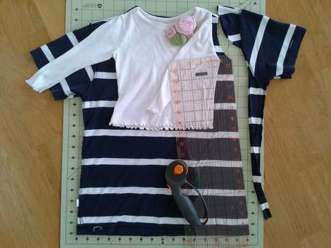 05 simple tutorial shirt to cinch dress
