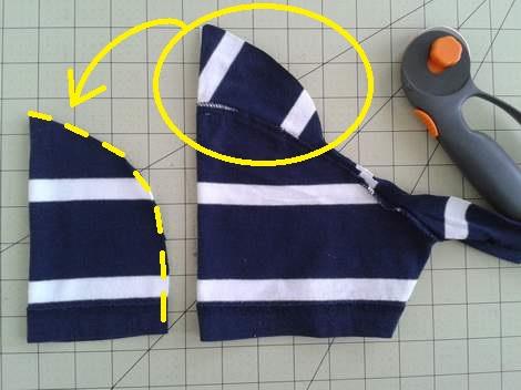 07 simple tutorial shirt to cinch dress