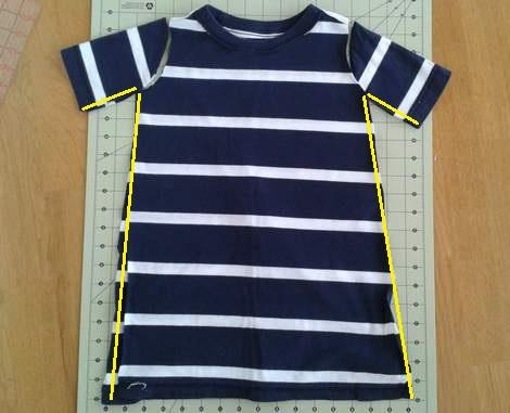 08 simple tutorial shirt to cinch dress