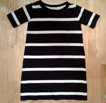 09 simple tutorial shirt to cinch dress