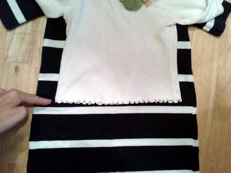 10 simple tutorial shirt to cinch dress