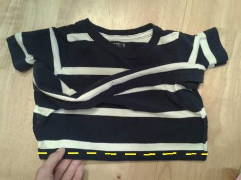 11 simple tutorial shirt to cinch dress