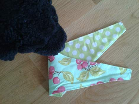 11 stuffed doggie bandana