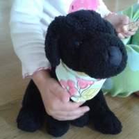 Stuffed Animal Bandana Tutorial {for doggie}