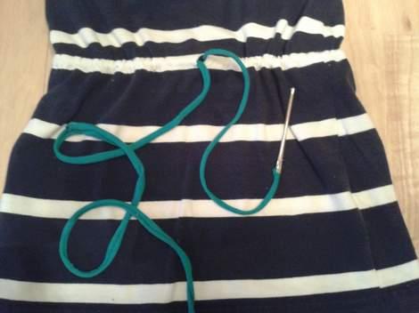 16 simple tutorial shirt to cinch dress