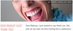 LINK Dear Makeup {just thank you}