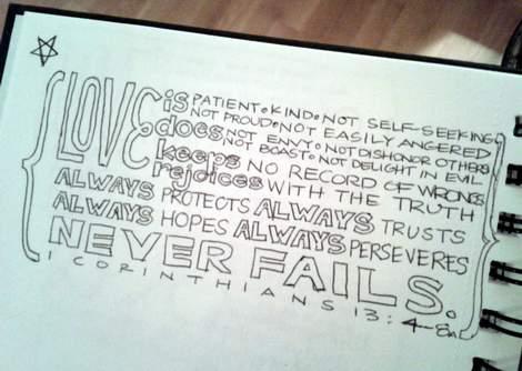 02 scripture doodle journal and canvas art